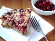 Cranberry Sour Cream Pie