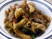 Caramelized Onions With Campanelle And Bacon