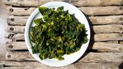 Kale with Ginger and Turmeric