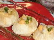 Puris for Pani Puris or Golgappa Puri or Puchka Puri Recipe - Chaat - Indian Gourmet Food