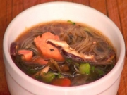 Healthy & Delicious Miso Salmon Soup!