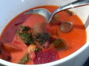 Best Ever Homemade Beet Soup Borscht
