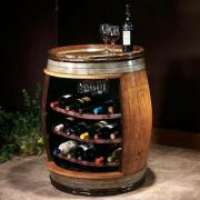 How to Build Wine Barrel Racks