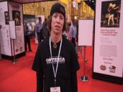 Cassidy Hudson @ the 2013 International Pizza Expo in Las Vegas