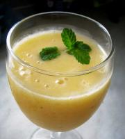 Cantaloupe Pineapple Grapefruit Drink
