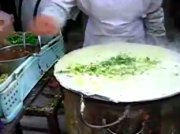 Making Chinese Crepe - I