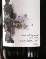 The Tasting Of Innocent Bystander Pinot Noir 2010