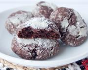 How to make Chocolate Coconut Crinkle Cookies