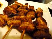 Curry Spiced Pork Kabobs