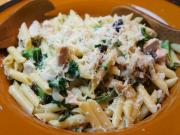 Turkey and Kale Pasta