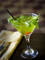 Mint Julep - Bourbon and water drink with mint and sugar