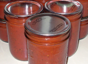 Stored meat sauce for later use