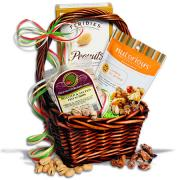 ideas for making a peanut gift basket