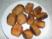 Aloo Bhakarwadi (Potato pinwheels)