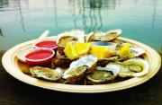 Roasted Oysters In The Half Shell