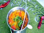 Andhra Mild Sambar/ Pappu Charu - Indian Lentil Soup