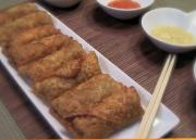 Delicious Pork and Egg Rolls