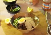 Refreshing Korean Cold Noodles (Bibim Naeng Myun)