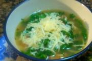 An Italian Inspired Toscana Soup and Homemade Garlic Bread