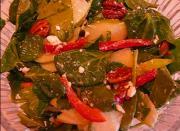 Springtime Sweet-Savory Spinach-Pecan Salad