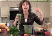 Sweet Vegetable and Parsley Anti Aging Smoothie