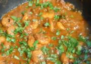 Indian Style Shrimp Curry