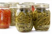 Can Vegetables In A Glass Jar
