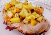 Lamb Chops With Pineapple