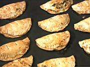 Blue Crab Empanadas with Spinach and Artichoke Hearts