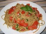 Pasta — Pasta with Tomatoes