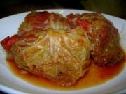 stuffed cabbage is a delicacy