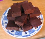 Choco Buttermilk Brownies