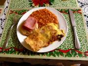 Swiss Cheese Omelette