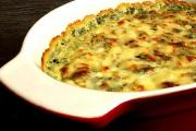 Crustless Spinach Tart