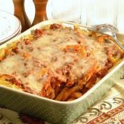 Leftover Pasta Casserole