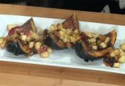 Oven Roasted Acorn Squash with Brandied Fruit