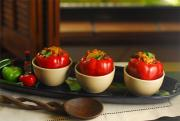 Slow Cooked Tex Mex Stuffed Peppers