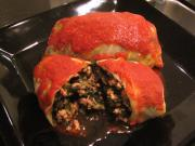 Jessica's Rockin' Turkey & Cookin' Greens Cabbage Rolls