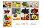 Try to include superfoods into your daily diet for a healthy body and mind.