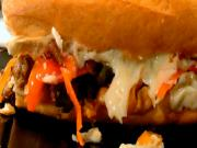 Sausage and Pepper Hero Sandwiches for Super Bowl