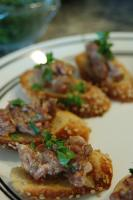 Corned Beef Fritters - Corned Beef Starters