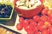 Citrus Marinated Grape Tomatoes