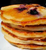 Blueberry Blini (Russian Pancakes)