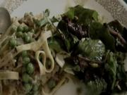 Fettuccine A La Dave' Totally Vegetarian Meal