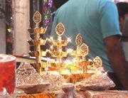 Sadar Bazar Market During Diwali