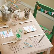 Kiddo table ideas for holiday meals