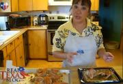 Make Ahead Buffalo Wings - Part 4 - Baking