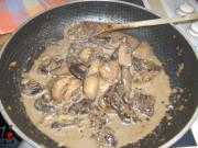 Creamy mushroom for polenta