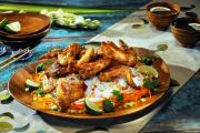 Malaysian-Inspired Chicken Wings
