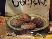 Stuffed Hamburgers by Cory Pierce of God Forbid